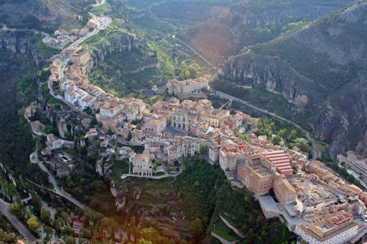 Cuenca desde el aire